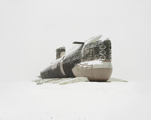 Danila Tkachenko. The world's largest diesel submarine. Russia, Samara region, 2013