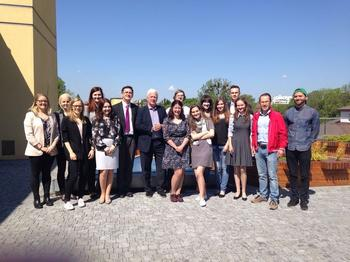 Faculty Workshop in Lviv, Ukraine, im Rahmen der Global Politics Seasonal Schools am Center for Global Politics
